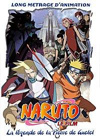 Naruto film 2 - La légende de la pierre de Guelel édition DVD