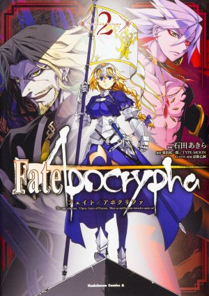 couverture, jaquette Fate/Apocrypha 2  (Kadokawa)