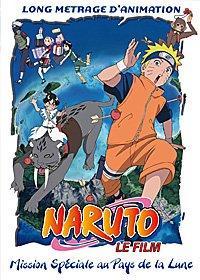 Naruto film 3 - Mission spéciale au pays de a lune édition DVD