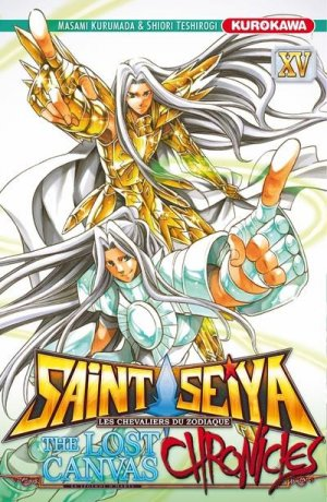 Saint Seiya - The Lost Canvas Chronicles 15 Simple
