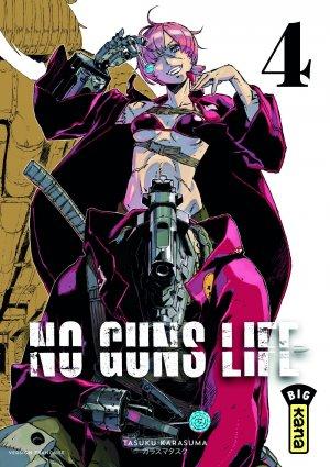 couverture, jaquette No Guns Life 4  (kana)