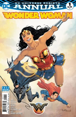 Wonder Woman édition Issues V5 - Rebirth Annuals (2017 - en cours)