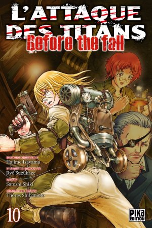 L'Attaque des Titans - Before the Fall # 10