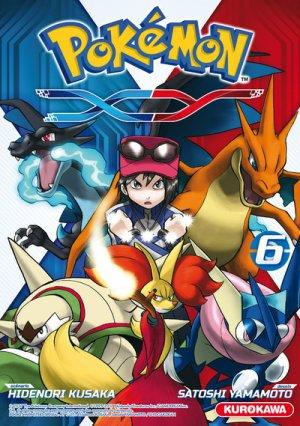 couverture, jaquette Pokémon XY 6  (Kurokawa)