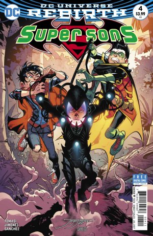Super Sons # 4 Issues V1 (2017 - 2018)