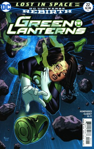 Green Lanterns 22 - Lost in space 1