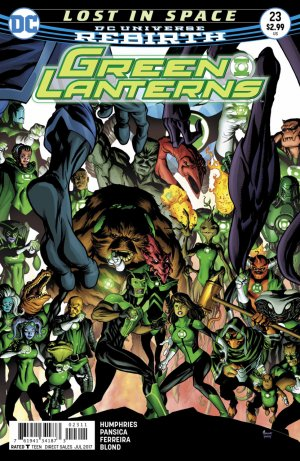 Green Lanterns 23 - Lost in space 2