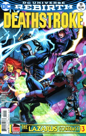 Deathstroke # 19 Issues V4 (2016 - Ongoing) - Rebirth