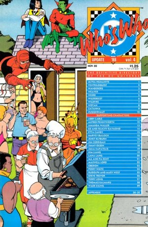 Who's Who - Update '88 édition Softcover (souple)