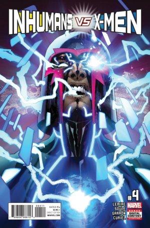 Inhumans Vs. X-Men # 4 Issues (2017)