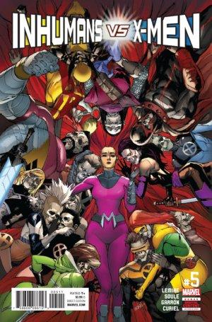 Inhumans Vs. X-Men # 5 Issues (2017)
