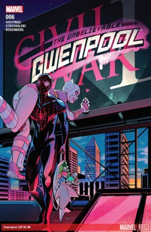 Gwenpool # 6 Issues (2016 - 2018)
