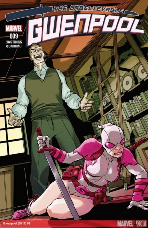 Gwenpool # 9 Issues (2016 - 2018)