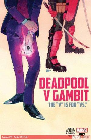 Deadpool Vs Gambit # 2 Issues V1 (2016)