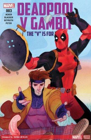 Deadpool Vs Gambit # 3 Issues V1 (2016)