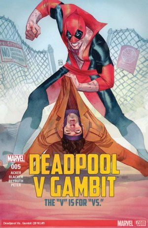 Deadpool Vs Gambit # 5 Issues V1 (2016)