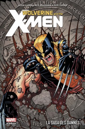 Wolverine And The X-Men # 4 TPB HC - Marvel Deluxe (2015 - En Cours)