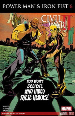 Power Man and Iron Fist # 6 Issues V3 (2016 - 2017)