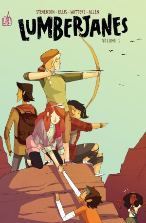 Lumberjanes édition TPB softcover (souple) - Intégrale