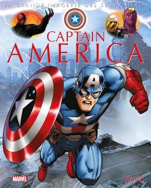 La grande imagerie des Super-Héros - Captain America édition TPB hardcover (cartonnée)