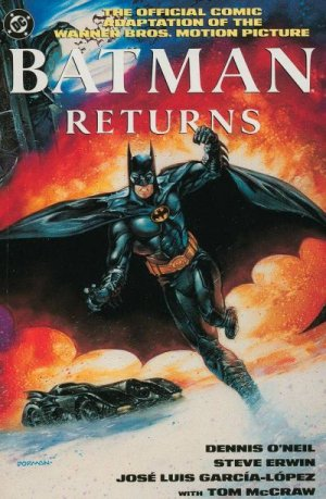 Batman Returns - The Official Comic Adaptation of the Warner Bros. Motion Picture édition TPB softcover (souple)