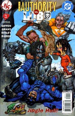 The Authority vs. Lobo - Jingle Hell # 1 Issues