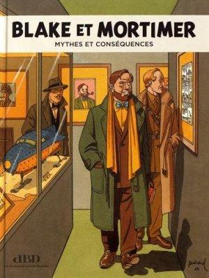 Blake et Mortimer mythes et conséquences édition Simple