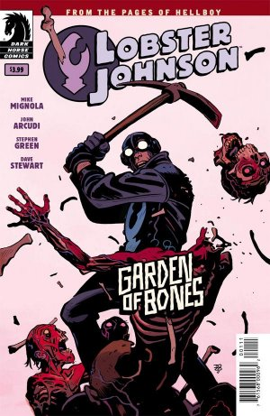 Lobster Johnson - Garden of Bones 1 - Garden of Bones
