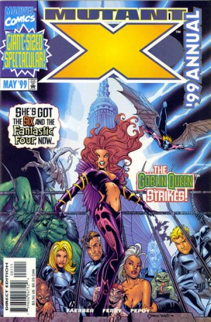 Mutant X édition Annuals (1999 - 2001)