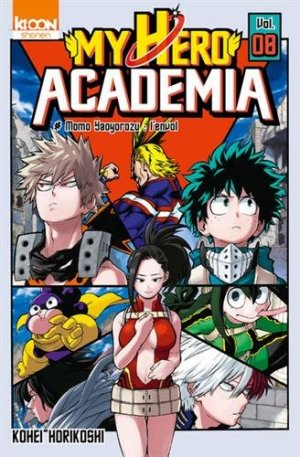 My Hero Academia 8 Simple