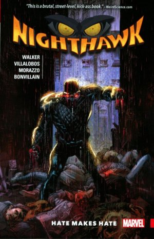 Nighthawk édition TPB softcover (souple)