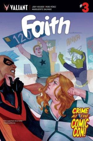 Faith (Valiant) # 3 Issues V2 (2016 - 2017)