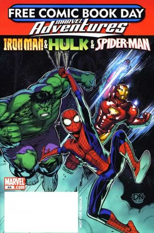 Free Comic Book Day 2008 - Marvel Adventures édition Issues