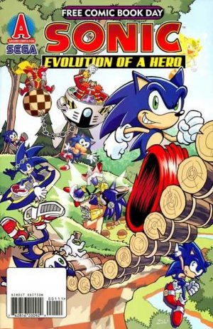 Free Comic Book Day 2009 - Sonic the Hedgehog édition Issues