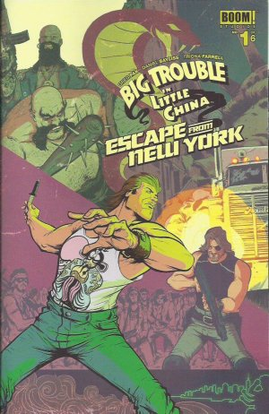 Big Trouble in Little China / Escape from New York édition Issues (2016 - 2017)