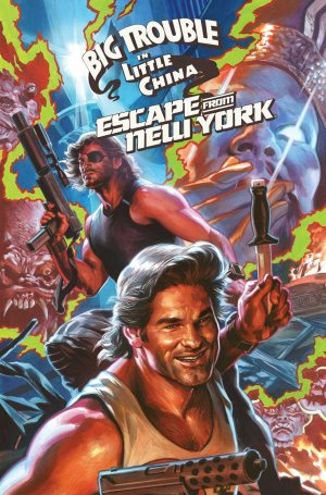 Big Trouble in Little China / Escape from New York édition TPB softcover (souple)