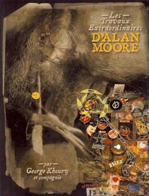 Les Travaux Extraordinaires d'Alan Moore édition TPB softcover (souple)