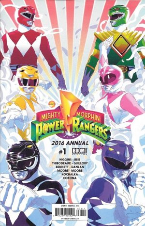 Mighty Morphin Power Rangers édition Issues - Annuals (2016 - Ongoing)