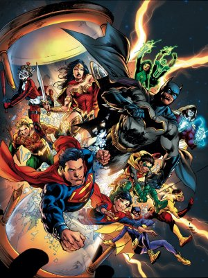 DC Univers Rebirth édition Omnibus Expanded Edition (Hardcover)