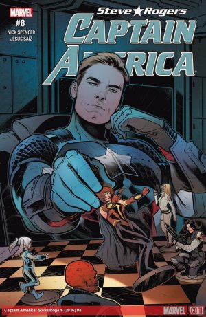 Captain America - Steve Rogers # 8 Issues (2016 - 2017)