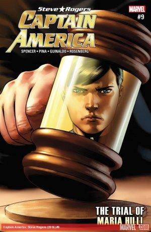 Captain America - Steve Rogers # 9 Issues (2016 - 2017)