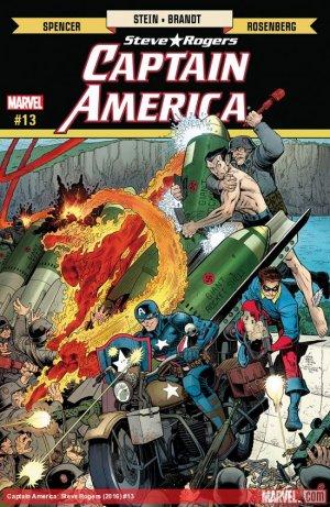 Captain America - Steve Rogers # 13 Issues (2016 - 2017)