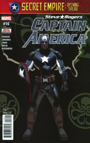 Captain America - Steve Rogers # 16 Issues (2016 - 2017)