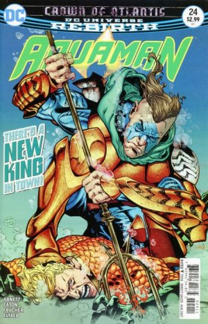 Aquaman # 24 Issues V8 (2016 - Ongoing) - Rebirth