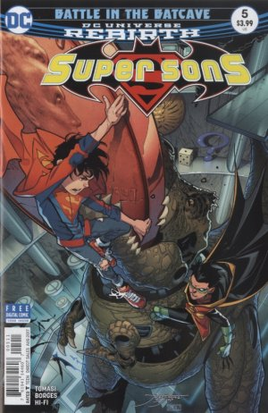Super Sons # 5 Issues V1 (2017 - 2018)