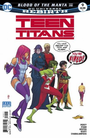 Teen Titans # 9 Issues V6 (2016 - Ongoing)