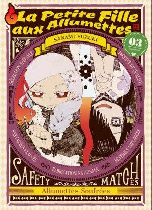 couverture, jaquette La petite fille aux allumettes 3  (Komikku Editions)