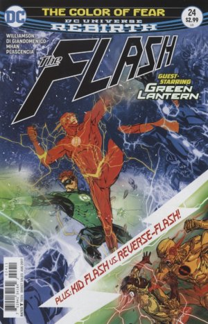 The Flash - Rebirth # 24 Issues V5 (2016 - Ongoing) - Rebirth