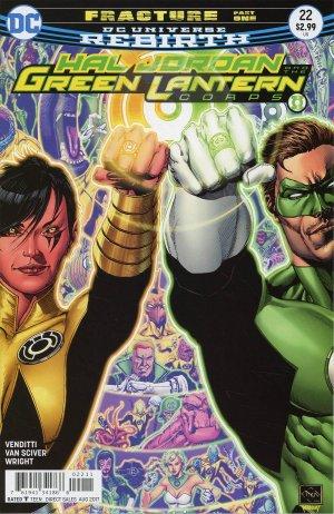 Green Lantern Rebirth # 22 Issues (2016-2018)