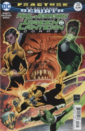 Green Lantern Rebirth # 23 Issues (2016-2018)